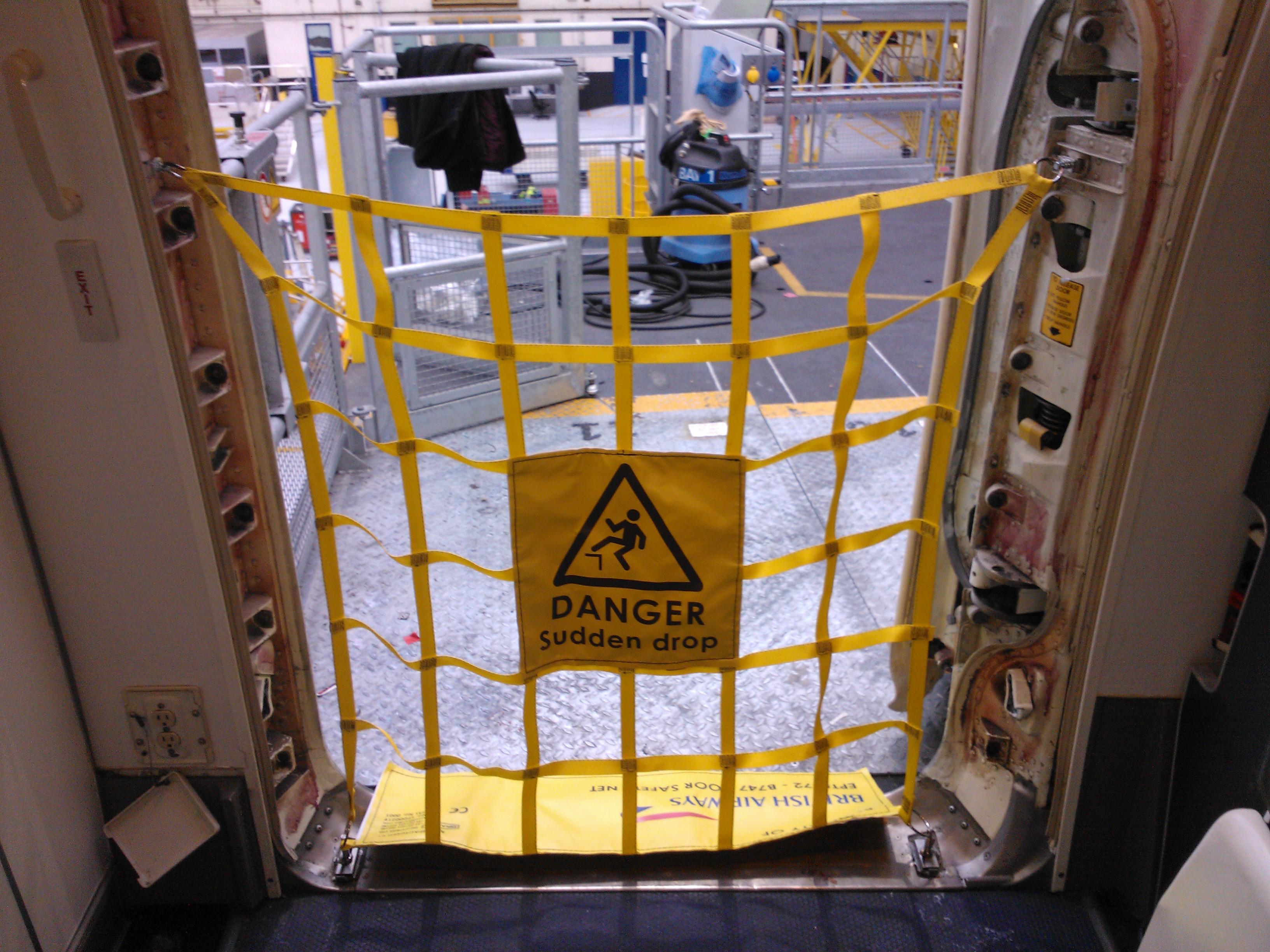 Door Safety Net - Drallim Industries