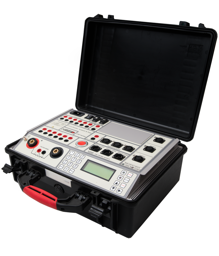 Cat66 Circuit Breaker Analyser And Timer Dv Power Drallim Industries Control For The S In Depth Cb Analysis Is Possible Using Win Analytical Software Which Comes As Standard With All Instrumentation