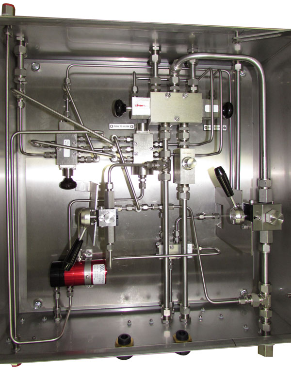 Slamshut Control Cabinets for Gas Networks - Drallim Industries